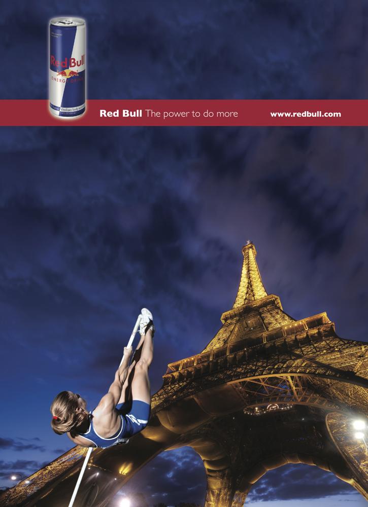red bull magazine ad